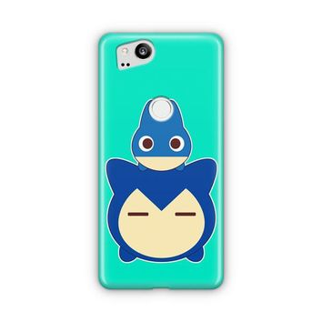 Snorlax And Muchlax Tsum Tsum Google Pixel 3 XL Case | Casefantasy