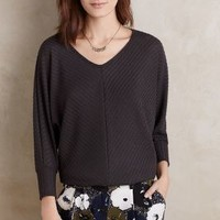 Velvet by Graham and Spencer Tous Les Jours Dolman Top in Dark Grey Size: