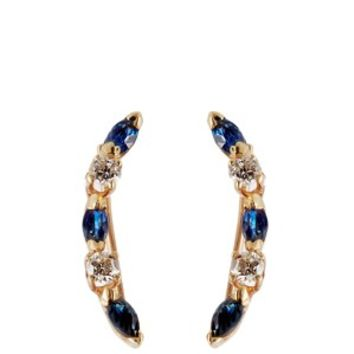 Laurel Wreath Pin sapphire earrings | Loren Stewart | MATCHESFASHION.COM US