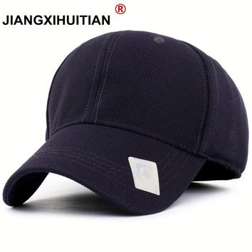 Trendy Winter Jacket Black Baseball Cap Men Snapback Hats Caps Men Flexfit Fitted Closed Full Cap Women Gorras Bone Male Trucker Hat Casquette AT_92_12