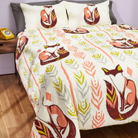 Way Back Den Duvet Cover in Full/Queen | Mod Retro Vintage Decor Accessories | ModCloth.com
