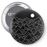 mountains Pin-back button
