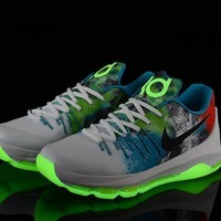 2017 nike zoom kd 8 kevin durant luminous version men s basketball shoes
