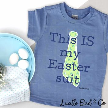 This IS My Easter Suit Infant/Toddler Boys Tee