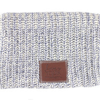 Black Speckled Beanie - Love Your Melon