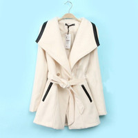 Double-breasted wool coat jacket BABHDH from Eternal