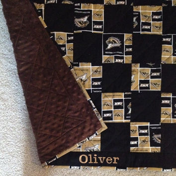 Western Michigan University Baby Quilt