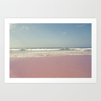 Sea waves 2 Art Print by VanessaGF