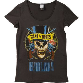 Guns N Roses  Use Your Illusion Junior Top Charcoal