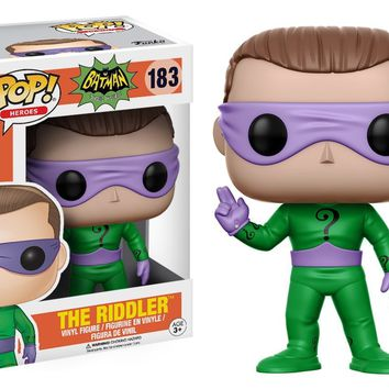 Riddler Funko Pop! Batman 1966 TV Series