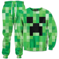 Minecraft Creeper Tracksuit