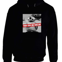 Star Wars  Bb8 Droid They See Me Rollin Hoodie