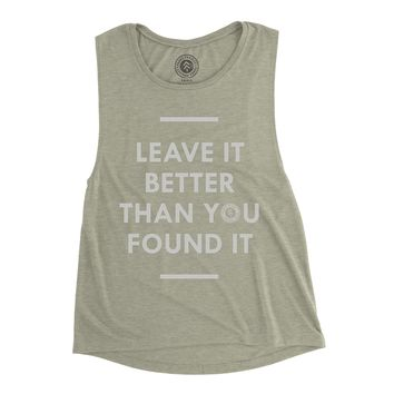 Leave it Better Sleeveless Tank