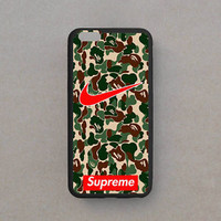 Best Nike Camoflage Design Custom Print On Cover Case For iPhone 5/5s 6/6s 6/6s+