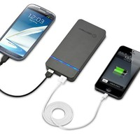 New Trent Powerpak 11.0 11000mAh High Capacity Dual USB Port External Battery Charger/Power Pack for Smartphones and Tablets and more