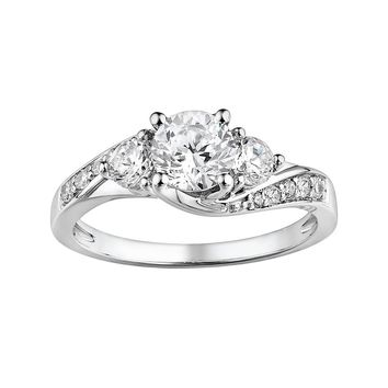 Diamonluxe Sterling Silver 1 65 Ct T W From Kohl S Rings