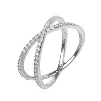 Sterling Silver Sparkling Cosmos Ring