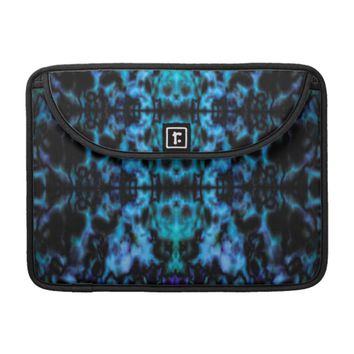 Psychedelic kaleidoscope pattern sleeve for MacBook pro