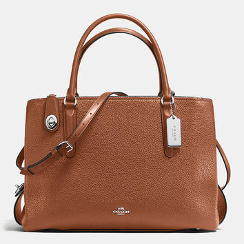 Brooklyn Carryall 34 in Pebble Leather