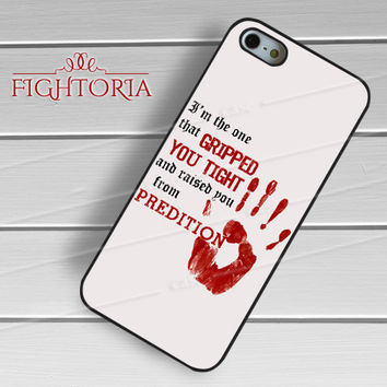 Supernatural I'm the one that gripped quote -3 for iPhone 6S case, iPhone 5s case, iPhone 6 case, iPhone 4S, Samsung S6 Edge