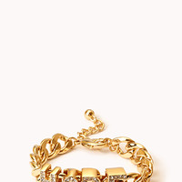 Optimist Curb Chain Bracelet