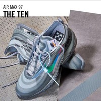 """The Ten"" Off-White x Nike Air Max 97 Wolf Grey / Menta, Size 8.5Uk️️️"