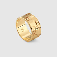 Gucci Icon medium band in yellow gold