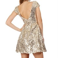 Gold Jackie O Fab Dress - FREE GIFT W PURCHASE