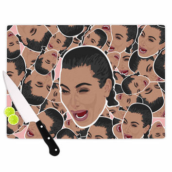 "Juan Paolo ""First World Problems"" Celebrity Funny Cutting Board"