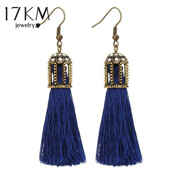 Long Tassel Chandelier Geometric Crystal Hook Dangley Party Statement Earrings