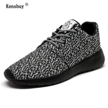 Kensbuy 2017 New Casual Shoes For Men Summer Fashion Mesh Shoes Lac-up Lightweight Bre