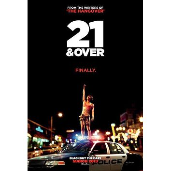 21 and Over 27x40 Movie Poster (2013)