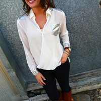 Perfect Party Blouse