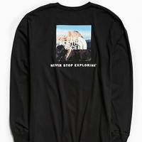 The North Face Half Dome Photo Box Long Sleeve Tee | Urban Outfitters
