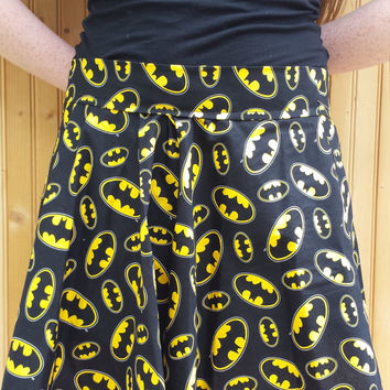 Batman Circle Skirt