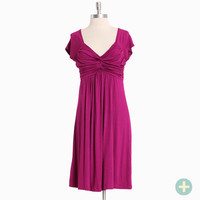 sweet sevilla curvy plus dress in magenta - $34.99 : ShopRuche.com, Vintage Inspired Clothing, Affordable Clothes, Eco friendly Fashion