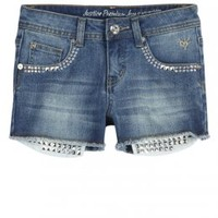 Embellished Pocket-bag Denim Shorts | Bottoms | New Arrivals | Shop Justice
