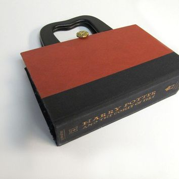 Book Purse made from Harry Potter recycled book by smartdesigning