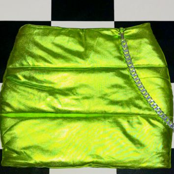 SWEET LORD O'MIGHTY! BRATITUDE PUFFER SKIRT IN KUSH