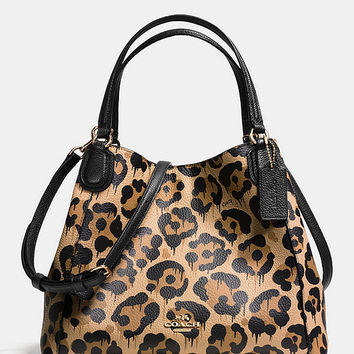 COACH EDIE SHOULDER BAG 28 IN WILD BEAST PRINT LEATHER | Dillards
