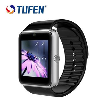 GT08 Smart Watch Sync Notifier Support Sim Card Bluetooth Connectivity Apple iphone Android Phone Smart Watch with retail box