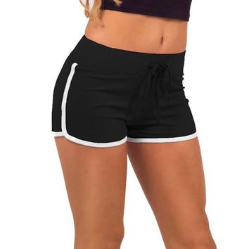 Women Yoga Shorts Quick Dry Breathable Sports Running Fitness Beach Shorts Swimming Running Outdoor Sport Shorts