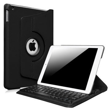 Fintie New iPad 9.7 inch 2017 / iPad Air Keyboard Case - 360 Degree Rotating Stand Cover with Built-in Wireless Bluetooth Keyboard for Apple New iPad 9.7 inch 2017 / iPad Air (2013 Model) Black
