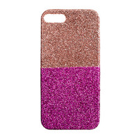 Girls' colorblock glitter case for iPhone 5 - fun finds - Girl's jewelry & accessories - J.Crew