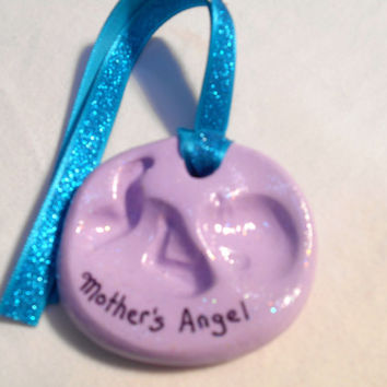 Expecting Mother Ornament, Clay Baby Ornament, New Mother Gift, Baby Gift, Pregnancy Gift, Polymer Clay Baby Ornament, Expectant Mother