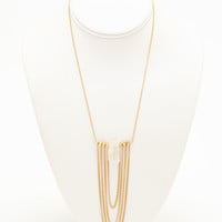 Dangling Chain Necklace