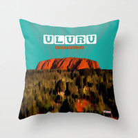 Australia Pillow Cover - Cushion Cover - Uluru throw pillow