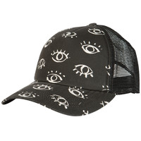 Billabong Women's Trippy View Trucker Hat Off Black One