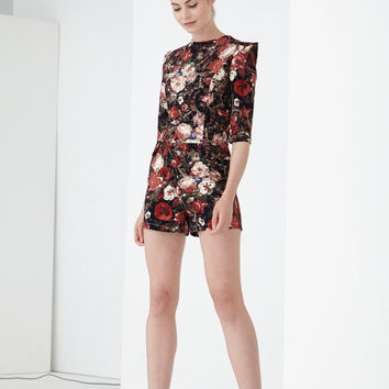 Lavish Alice Go with the Floral Playsuit