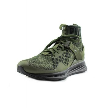 [Free Shipping ] New Puma IGNITE Evoknit Green Training Sneaker